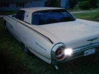 Immaculate Classic clean White T Bird all original and