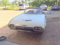1963 Thunderbird Convertible in very good condition.
