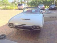 1963 Thunderbird Convertible in very good condition.