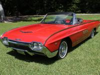 1963 Ford Thunderbird Roadster  The other extra charge