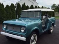 1963 International Scout 80 in all around restored and