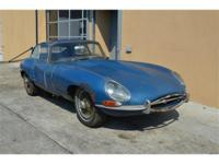 1963 Jaguar XKE Series I, 2 seater coupe. 3.8. Matching