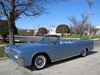 In 1963 The Lincoln Offered The Only 4 Door Convertible