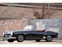 This 1963 Mercedes-Benz 190SL Convertible . It is