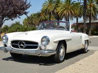 1963 Mercedes-Benz 190sl Roadster with excellent