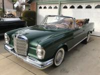 Beautiful 1963 220se Convertible Mercedes with a