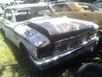 Parting out this 63 Mercury Meteor. Hood $100.00 ..