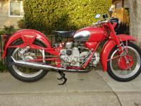 Up for Sale 1963 Moto Guzzi Falcon 500 Sport. Very