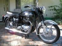 This is a 1963 Norton Atlas 750. This bike is in