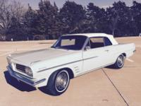 1963 Pontiac Tempest Le Mans Convertible. -Great