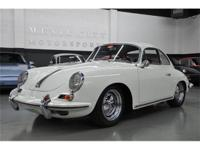 This 1963 Porsche 356 2dr B Coupe features a 1600 4cyl
