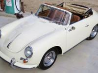 1963 Porsche 356 B S-90 Reuter T6 Cabriolet. This car