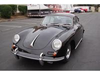 Impeccably presented, this Karmann-bodied 356 B Coupe