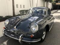 Absolutely Beautiful Porsche 356 Super 90 Coupe -