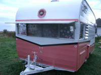 Vintage 1963 Shasta 16 ft  SCS  . ( Reconditioned