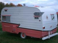 Classic 1963 Shasta 16 ft SCS. (Reconditioned )Exterior