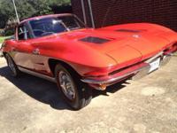 1963 SWC Chevrolet Corvette for sale (TX) - $129,900