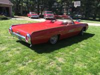 1963 Ford Thunderbird, beautifully restored inside &