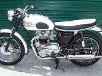 1963 Triumph Bonneville, Perfectly restored & rebuilt