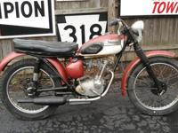 This auction is for a 1963 Triumph 200cc Tiger Cub. It
