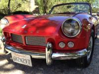 Lovely 1963 Triumph Spitfire 4 Mark I.FULL NUTS & &