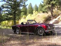 1963 Triumph TR-4 convertable, owned 40 yrs. Has been
