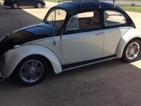 1963 over the top custom VW Bug. It has everything and