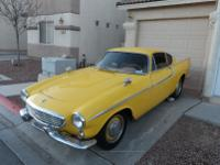 1963 Volvo P1800 with 4 cylinder 4 speed with overdrive