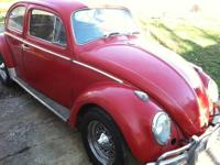 For sale is my 1963 vw beetle. It has a 1400cc engine,