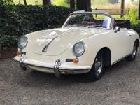 1963 Porsche Cabriolet, recently cosmetically and