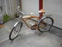 Rare Schwinn bike with springer front forks. Still has