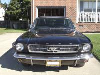 "1964 1/2 ""D"" Code Ford Mustang Coupe with Factory"