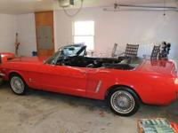 1964 1/2 Ford Mustang (VA) - $25,000 Cherry Red
