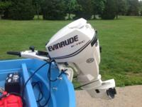 Iam selling my 13 ft boston whaler with new 30hp etec