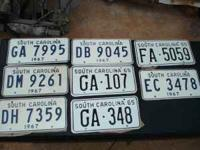 I have a lot of s.c tags from 1964-1974 they are new