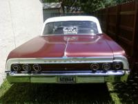 1964 2 door, automatic, Chevy Impala, (a difficult to