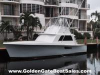 1964, 41' HATTERAS 41 Convertible Asking: $199,000