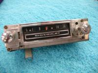 This is a 64 to 66 truck radio for chevrolet. Extremely