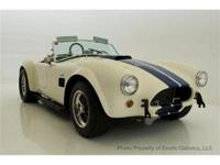 1964 289 COBRA FIA-UNIQUE MOTORS EXOTIC CLASSICS IS