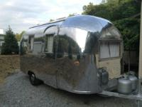 THIS AIRSTREAM BAMBI ll 17ft long IS ONE OF THE LAST OF