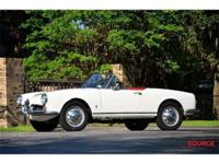 This 1964 Alfa Romeo Giulia Convertible . It is