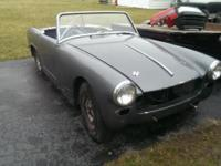 I have a 1964 AustinHealey Sprite convertible with a