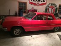 64 biscayne for sale all outside body work done just