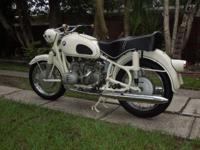 1964 BMW R FIFTY. Made in Germany 9/18/1964 and