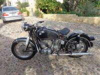initial paint and unmolested BMW R-50 from 1964; all on
