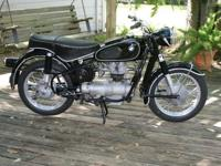 1964 BMW R27 250ccOriginal and unmolested motorcycle in