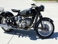 1964 BMW R50 ALL ORIGINAL. Nice and clean R50
