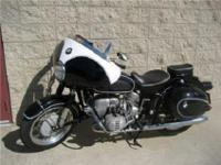 Vintage BMW R60/2 !!!!!! The BMW air cooled boxer twin