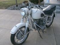 1964 BMW R60 Motorcycle. This bike is painted Dover