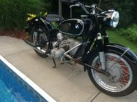 I have owned this BMW R60/2 over 30 years and bought